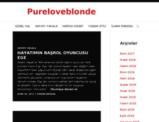 pureloveblonde.com screenshot