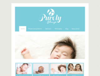 purelysleep.ca screenshot