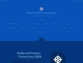 puremvc.org screenshot