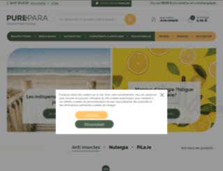 purepara.com screenshot