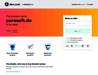 puresoft.de screenshot