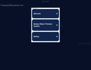 purewaterfilterproducts.com screenshot