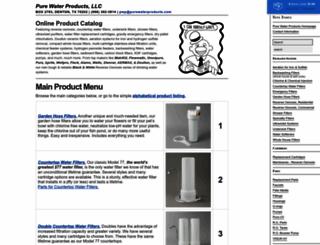 purewaterproducts.com screenshot