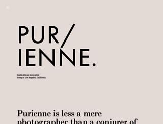 purienne.com screenshot
