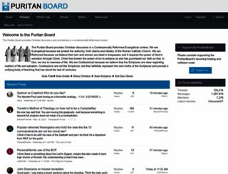 puritanboard.com screenshot