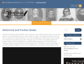 puritanshop.com screenshot
