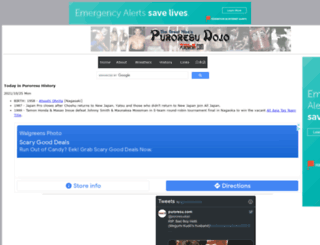puroresu.com screenshot