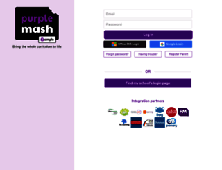 purplemash.com screenshot