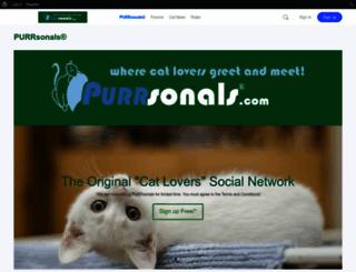 purrsonals.com screenshot