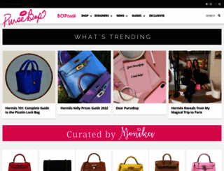 pursebop.com screenshot