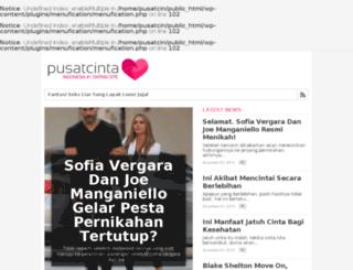pusatcinta.com screenshot