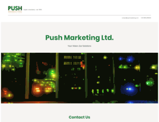 pushmarketing.com screenshot