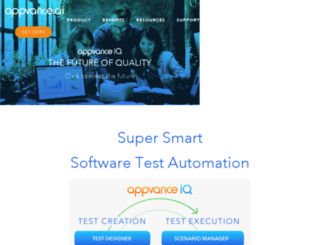 pushtotest.com screenshot
