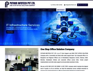 puthurinfotech.co.in screenshot