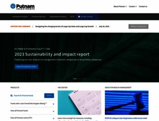putnam.com screenshot