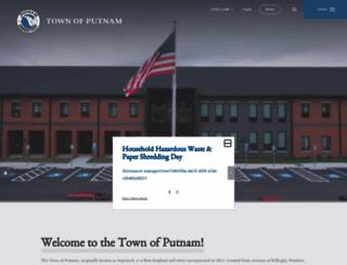putnamct.us screenshot