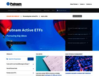 putnaminvestments.com screenshot