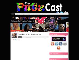 putzcastpodcast.wordpress.com screenshot