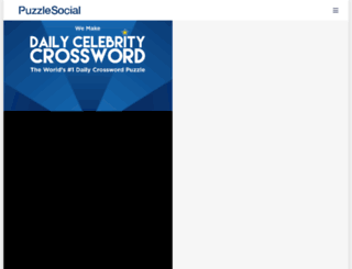 puzzlesocial.com screenshot