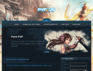 pvpwithus.com screenshot