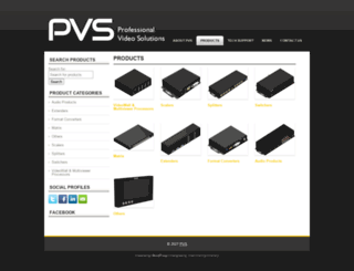 pvs-us.com screenshot