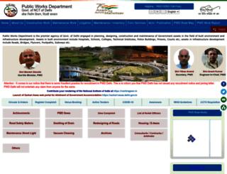 pwddelhi.com screenshot