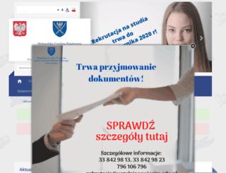 pwsz-oswiecim.edu.pl screenshot