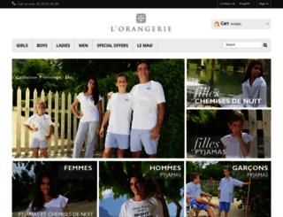 pyjama-orangerie.com screenshot