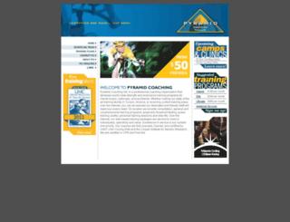 pyramidcoaching.com screenshot