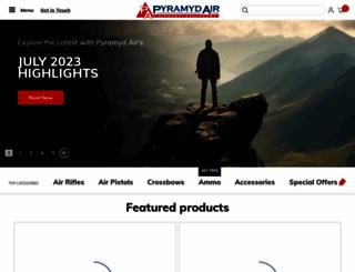 pyramydair.com screenshot