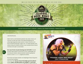 pyraser-classic-rock.de screenshot