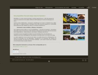pyrenees-seminaires.com screenshot