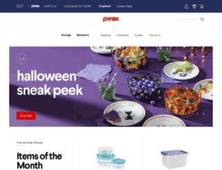 pyrexware.com screenshot