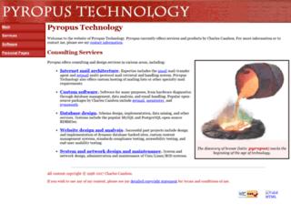 pyropus.ca screenshot