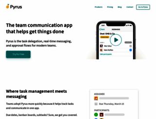 pyrus.com screenshot