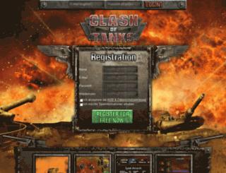 pz.rising-faction.de screenshot
