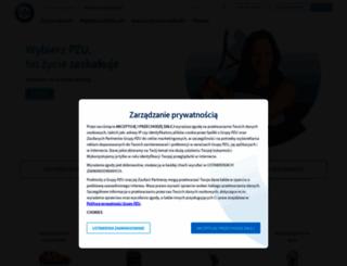 pzu.pl screenshot