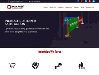 q-manager.com screenshot