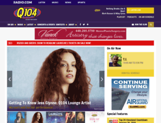 q104.cbslocal.com screenshot