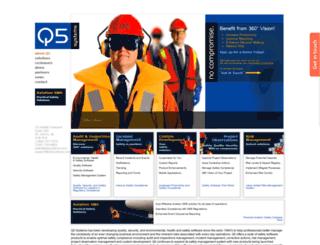 q5systems.com screenshot