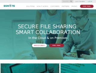 qa-egnyte.com screenshot