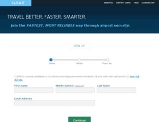 qa-enroll.clearme.com screenshot