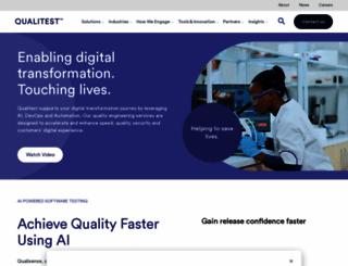 qainfotech.com screenshot