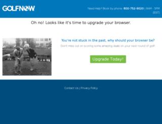 qantasgolfclub.com screenshot