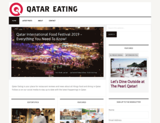 qatareating.com screenshot