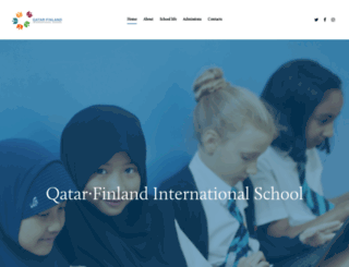 qatarfinlandschool.com screenshot
