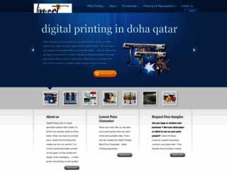 qatarprinting.com screenshot
