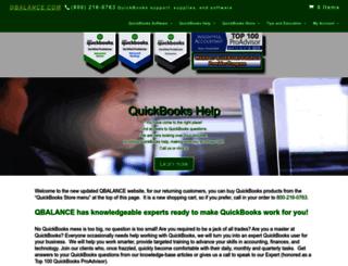 qbalance.com screenshot