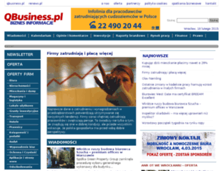 qbusiness.pl screenshot