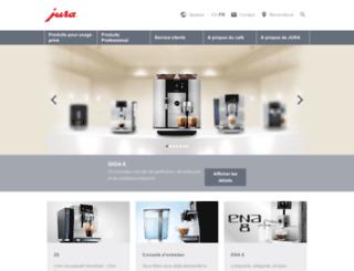 qc.jura.com screenshot